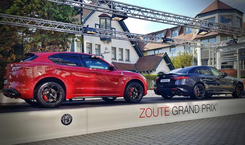 Zoute Grand Prix Alfa Romeo Stelvio et Giulietta QV