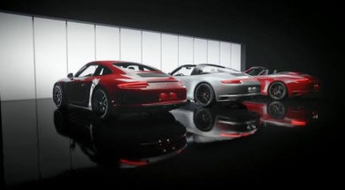 The new Porsche 911 GTS models.