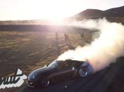 Chris Forsberg's Twin Turbo 370Z High Speed Test Session | Donut Media