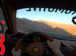 488 Spider POV DRIVE on CLOSED mountain road!