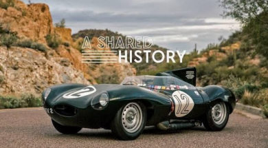 This 1954 Jaguar D-Type Represents A Shared History