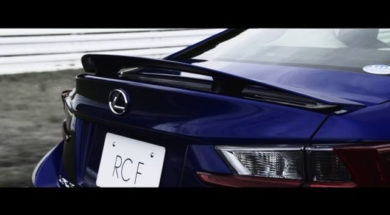 RC F Driving Movie