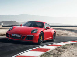 The new 911 GTS models in motion.