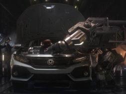 The 2017 Civic Hatchback gets turbocharged