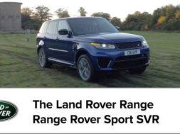 Range Rover Sport SVR – 0-100km/h All-Terrain Acceleration
