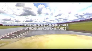 The Grand Tour: 360 Video of Richard Learning to Drift Properly