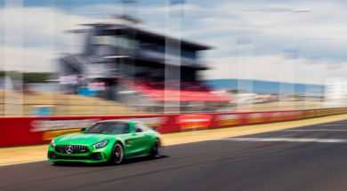 Mercedes-AMG GT R Production Car Lap Record at Mount Panorama