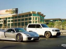 The Grand Tour: Porsche 918 vs. Nissan Patrol