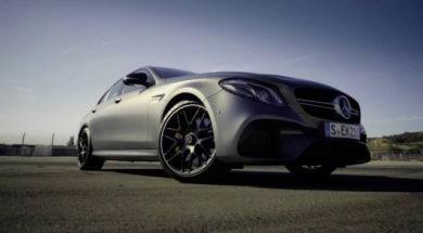 Bernd Schneider Introduces the new Mercedes-AMG E 63 S