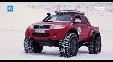 Nokian Tyres presents: Nokian Hakkapelitta 44 tailored for Arctic Trucks