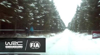 WRC – Rally Sweden 2017: ONBOARD Østberg «Shakedown»