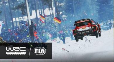 WRC – Rally Sweden 2017: Østberg´s jump @ COLINS CREST SS11