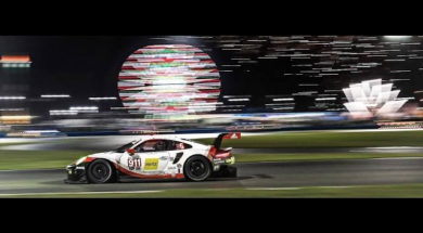 Porsche at the 24h of Daytona: Choose your perspective