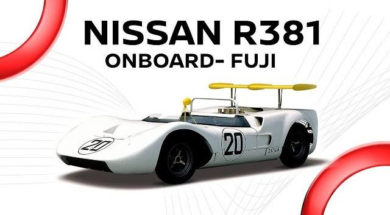 Nissan R381 'Monster Bird'(1968) :Onboard @ Fuji
