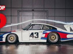 Porsche Top 5 series – Aérodynamisme
