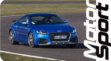 Audi TT RS lap time : faster than BMW M2 !