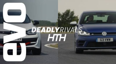Renautsport Mégane 275 Trophy-R v VW Golf R | evo DEADLY RIVALS head to head