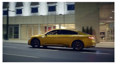 The new Volkswagen Arteon.