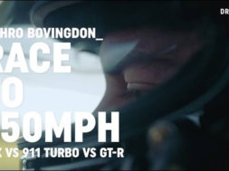 Honda NSX vs Porsche 911 Turbo vs Nissan GT-R: race to 150mph