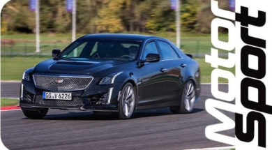 Cadillac CTS-V : best track ready limousine ?