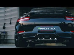 2017 Porsche (911) 991.2 Carrera S Cabriolet w/ Armytrix Valvetronic Exhaust – Loud Revs