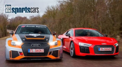 SOUNDCHECK: MTM RS3 LMS(330PS) & R8 Supercharged (802PS) – AUTO BILD SPORTSCARS