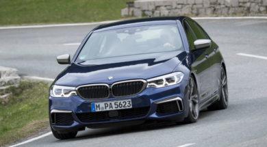 BMW M550i Xdrive vue dynamique