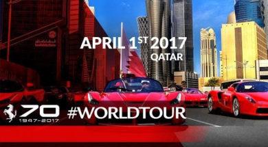 70ème anniversaire de Ferrari au Qatar