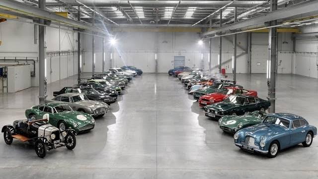 Aston Martin : 65 millions de £ lâchés dans la nouvelle usine de St Athan