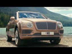 The landing – Bentley Bentayga