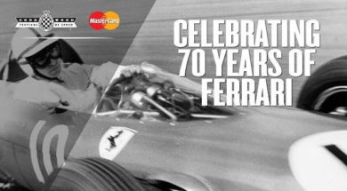 Goodwood célèbre les 70 ans de Ferrari