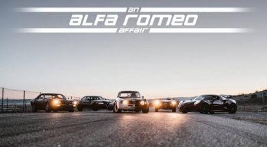 An Alfa Romeo Affair – Driving the Giulia, 4C, GTA, Montreal, and Giulietta at Willow Springs
