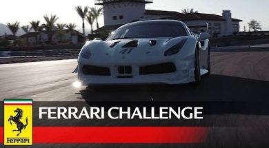 Pour les courses : Ferrari 488 Challenge