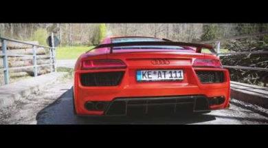 Audi R8 par ABT : plein les oreilles