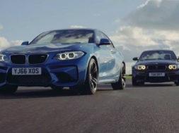 Chris Harris – Top Gear, laquelle choisir entre BMW M2 et BMW 1M? Dilemme…