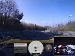 7 minutes 12.7 seconds au Nürburgring en Porsche GT3