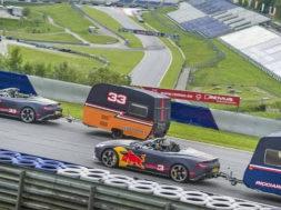 Quand Daniel Ricciardo et Max Verstappen partent en vacances en caravane