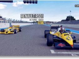 Renault, 40 ans de Formule 1