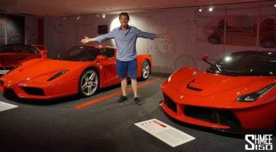 Toutes les plus belles Ferrari dans leur écrin, un musée tout neuf