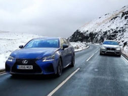 Chris Harris – Top Gear : la Lexus GS-F face à la BMW M5