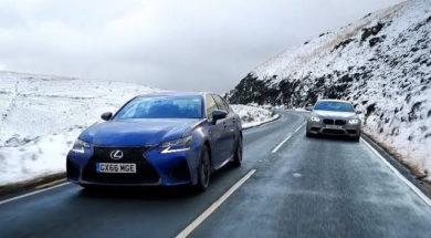 Chris Harris – Top Gear : la Lexus GS-F face à la BMW M5