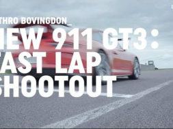 En piste avec une Porsche 911 GT3 rageuse
