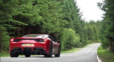 MrJWW a trouvé la route idéale pour la Ferrari 458 Speciale
