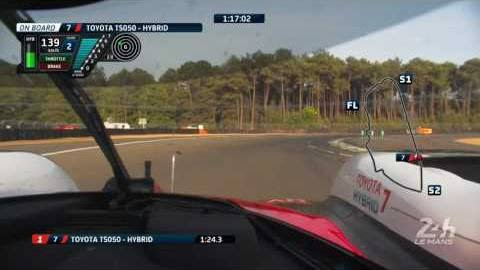 Nouveau record du tour aux qualifs  des 24 Heures du Mans par Kamui Kobayashi sur Toyota
