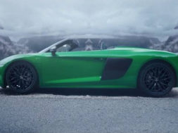 Véhicule vert : nouvelle Audi R8 Spyder V10 Plus