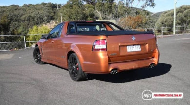 Holden Commodore SS, un pick-up piquant