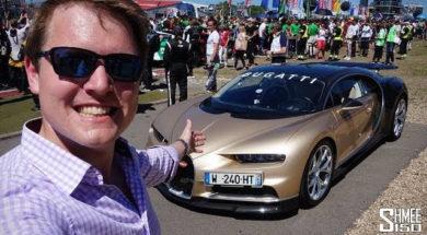 La Bugatti Chiron au Nürburgring avec Shmee150