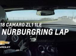 Une de plus, la Chevrolet Camaro ZL1 1LE au Nürburgring