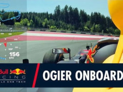 Caméra embarquée : Sébastien Ogier dans la RB7 sur le circuit Red Bull