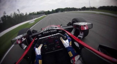 Indycar : Graham Rahal à Mid-Ohio Sports Car Course